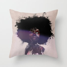 Afro Funk Throw Pillow
