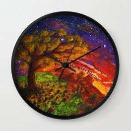 La Manzana Eterna Wall Clock