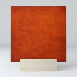 Burnt Orange  Mini Art Print