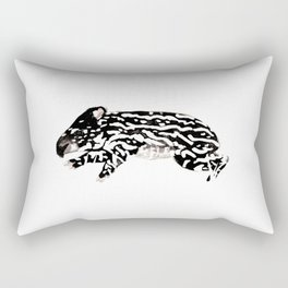 Tapir baby Brendan Rectangular Pillow