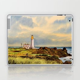 Turnberry Golf Course Scotland 9th Tee Laptop & iPad Skin