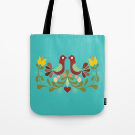 Vector folk art design Tote Bag