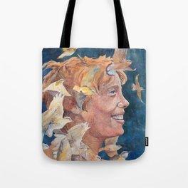 Women of Valor: Amelia Earhart Tote Bag