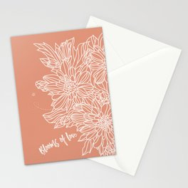 Blooms of Love_Melon Stationery Cards