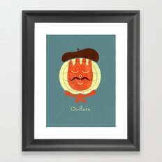 French Companion Framed Art Print