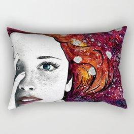 Daisy Head Rectangular Pillow