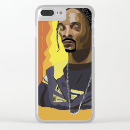 Snoop D.O.Double G. Clear iPhone Case