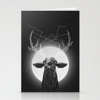 deer Stationery Cards featuring The Banyan Deer by Davies Babies