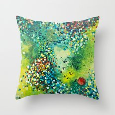 Dimensions of Flow Throw Pillow