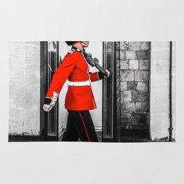 The Queens Red Guard Rug