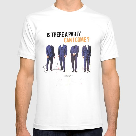 Is There a Party Can I Come | Collage T-shirt