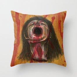 Conscious Head Throw Pillow