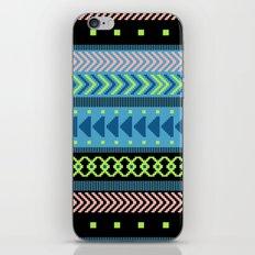 Together Again - tribal geometrics iPhone Skin