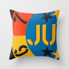 6 7 JU Throw Pillow