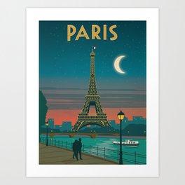 Vintage poster - Paris Kunstdrucke