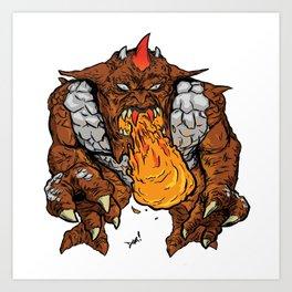 Metlar (Inhumanoids) Art Print