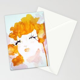 Stars Were In Her Eyes Stationery Cards