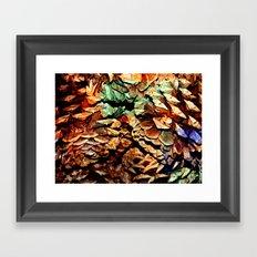 Painted Pine Framed Art Print