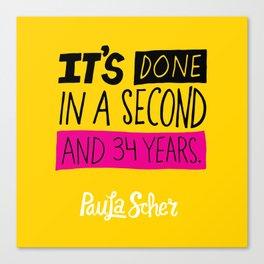 Paula Scher Canvas Print
