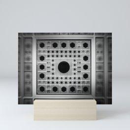 Abstract background Mini Art Print