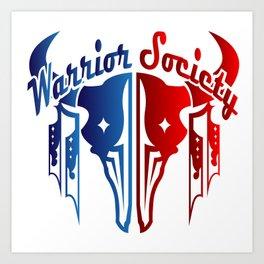 Warrior Society (Buffalo) Art Print
