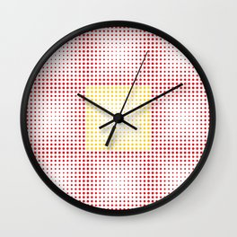Dots #6 Wall Clock