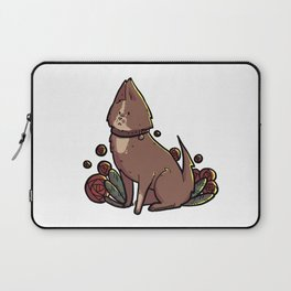 supportive dog 3 Laptop Sleeve