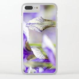 Flight of Butterflies Iris Clear iPhone Case