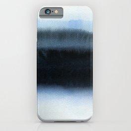 Blue L1 iPhone Case