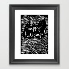 h.h. Framed Art Print