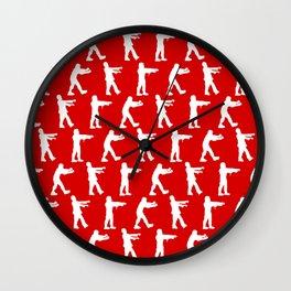 Zombie Walk Wall Clock