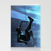 nightwing Stationery Cards featuring Nightwing Beyond by Yvan Quinet
