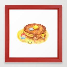 Pancake Framed Art Print