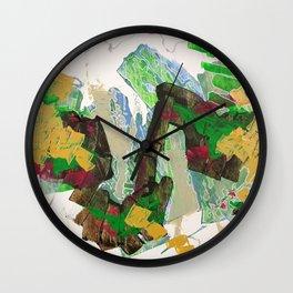 Jet-Set Beat Wall Clock