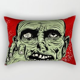 Grr! Argh! Zombie Rectangular Pillow