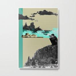 A Homeland souvenir #3: The castle and the clouds. Metal Print
