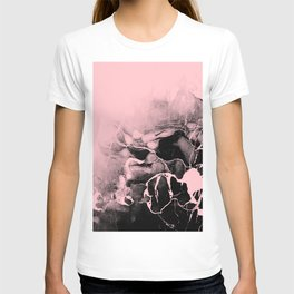 Black Marble and Pink T-shirt