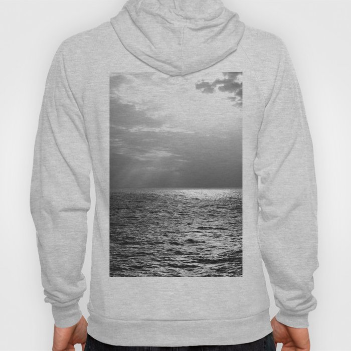 Black and White Sea Hoody