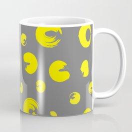 Yellow dotted pattern Coffee Mug