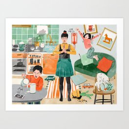 Zen Home Art Print