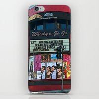 whisky iPhone & iPod Skins featuring The Whisky A Go Go by Barbara Gordon Photography