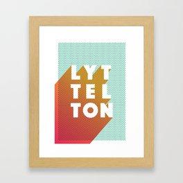 Lyttelton Dots Framed Art Print