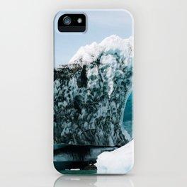 Icebergs in Daylight iPhone Case