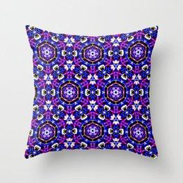 Clover Blossom Pattern Throw Pillow