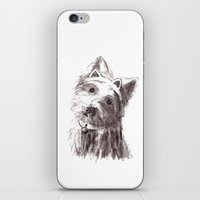 bon iver iPhone & iPod Skins featuring Bon Bon by Solidgaunt
