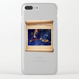 Urania's Mirror - Pisces Clear iPhone Case