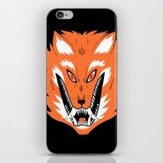 Cursed Fox iPhone & iPod Skin