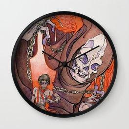 The Razor's Edge Wall Clock