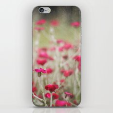 Red Flowers Only iPhone & iPod Skin