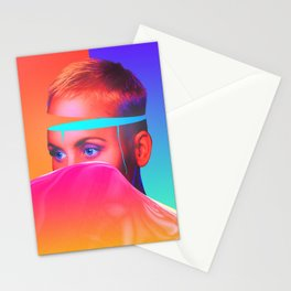 THE BRAIN OVERFLOW Stationery Cards